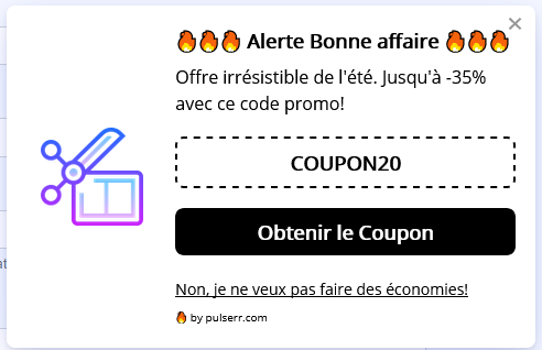 Pulserr coupon